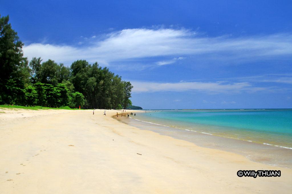 the south of Mai Khao beach near Nai Yang Beach