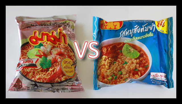 Mama vs WaiWai – Instant Noodles