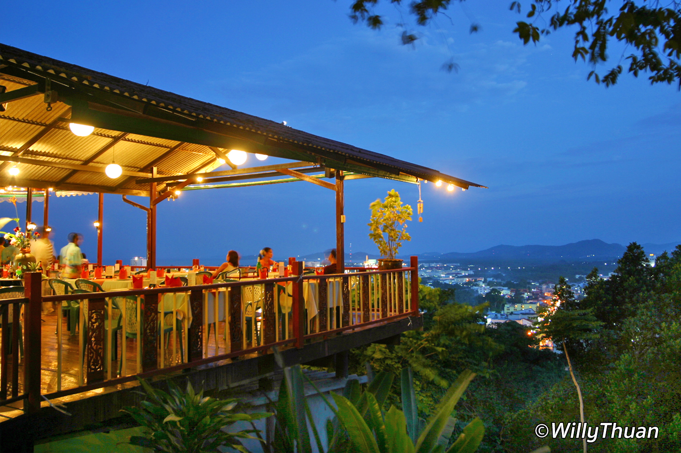 Phuket View Restaurant on Khao Rang Hill