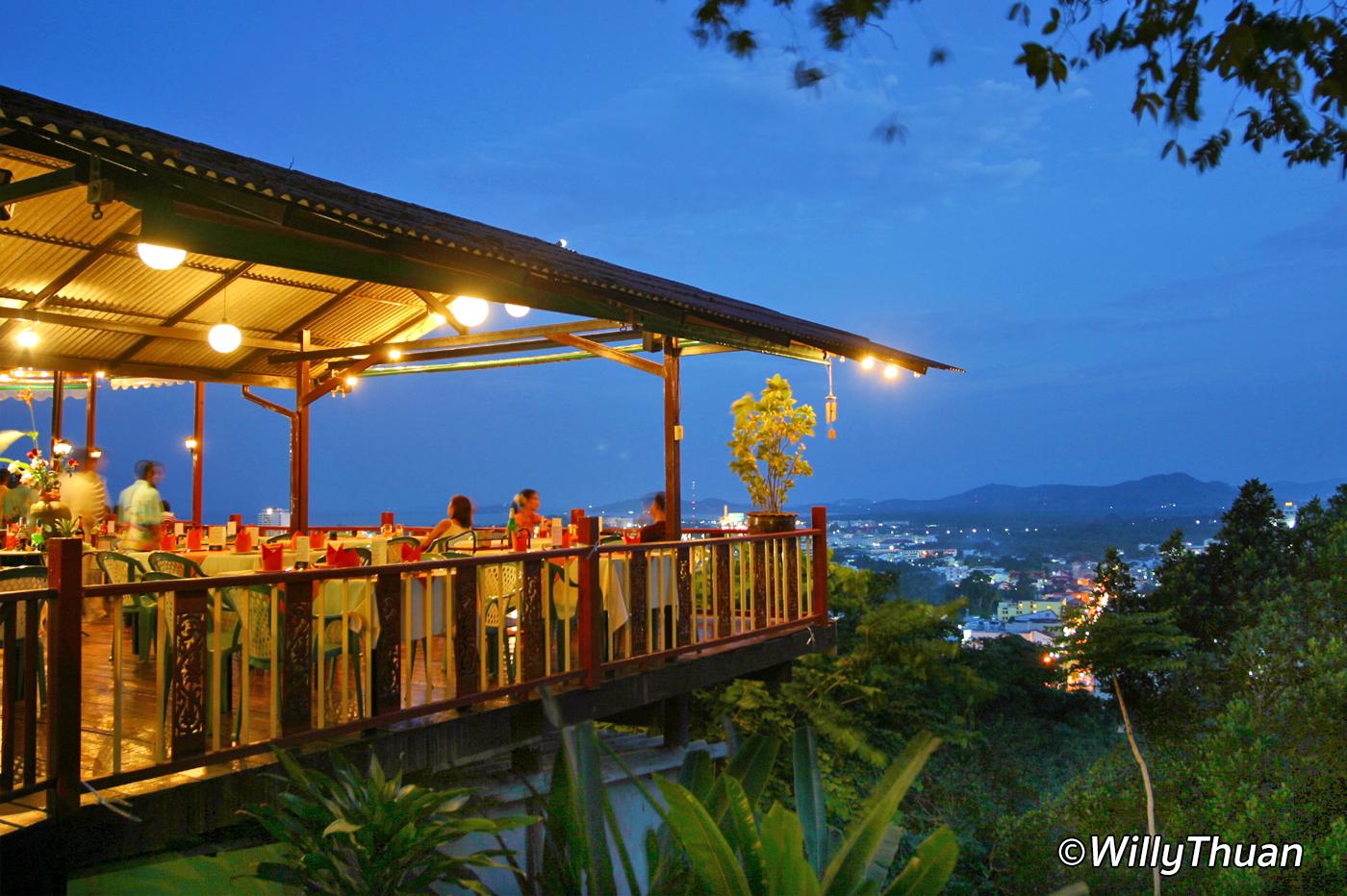 Phuket View Restaurant on Khao Rang Hill