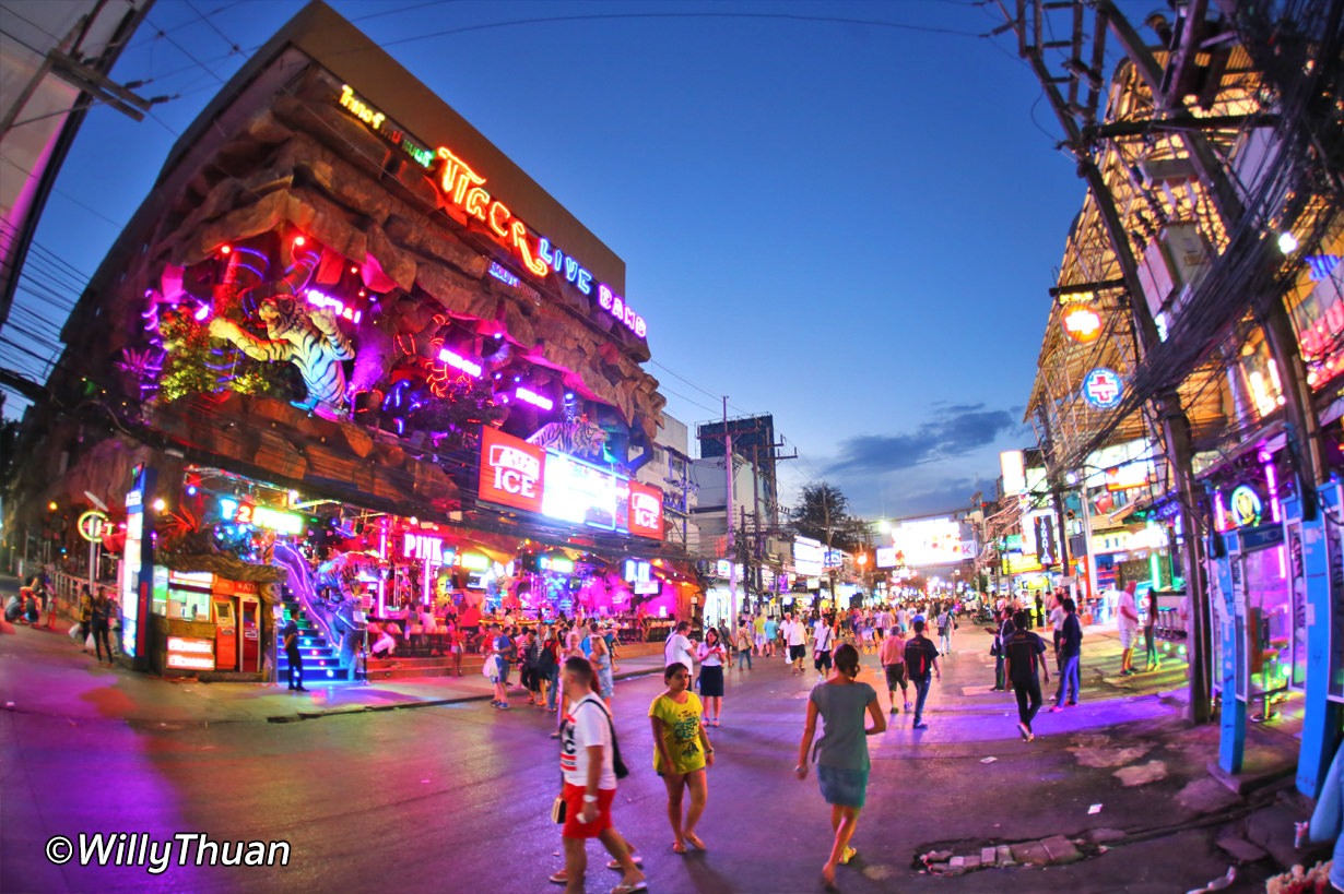 Bangla Road in Patong Beach, Where to Go at Night in Phuket