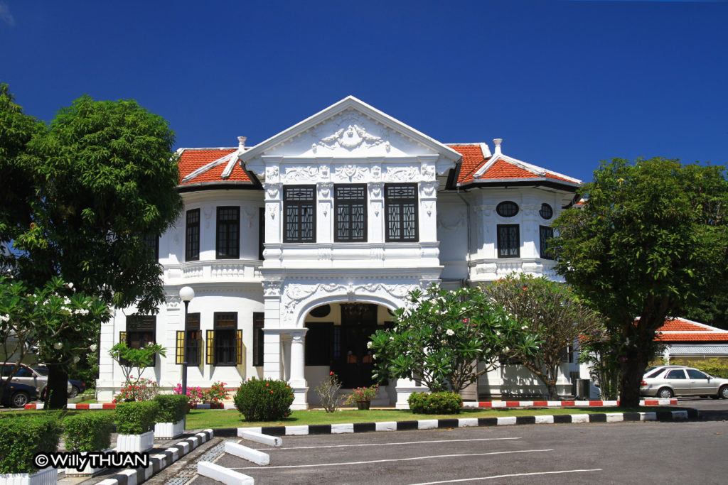 Thai Airways office in Phuket town