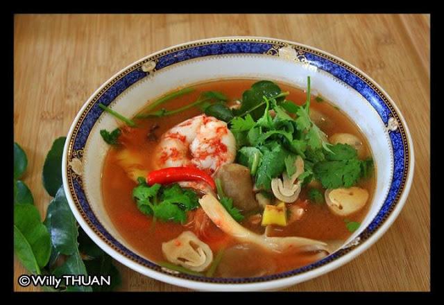 Tom Yum Goong Recipe by Faa