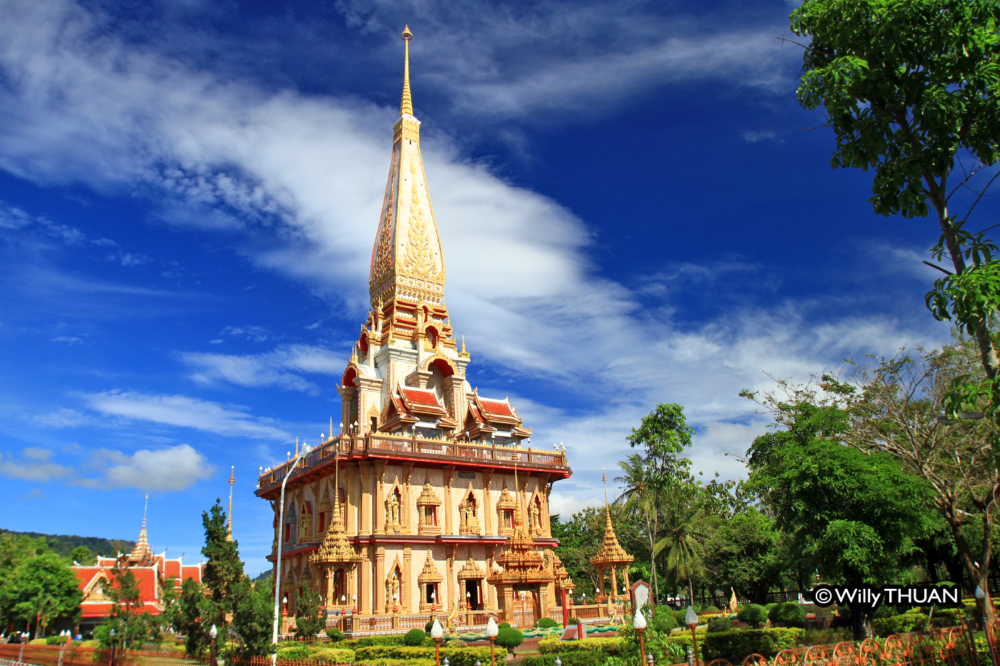 Wat Chalong  – Most important temple in Phuket near Chalong
