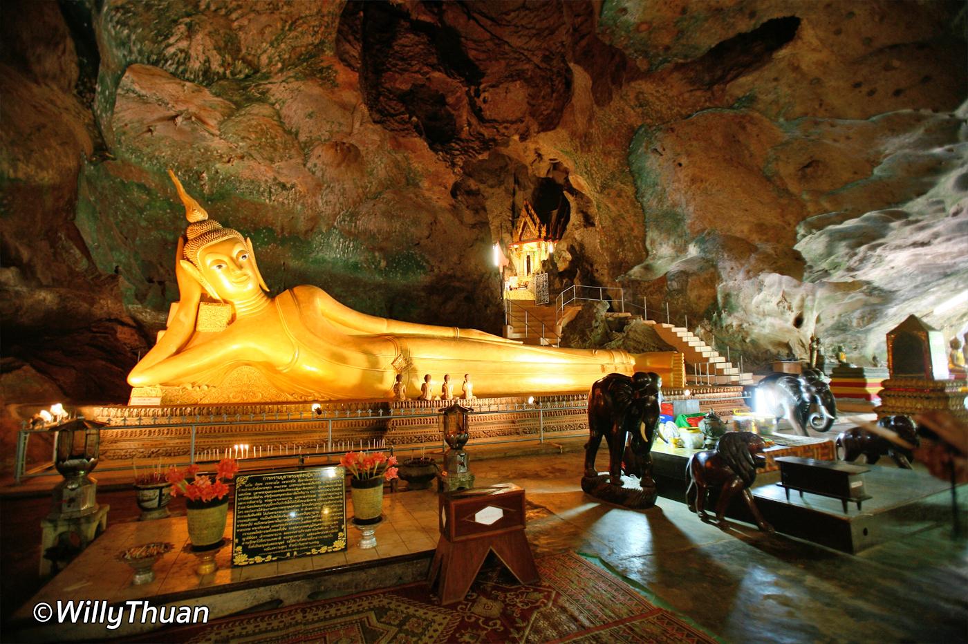Buddha Cave in Phang Nga – Wat Tham Suwan Khuha