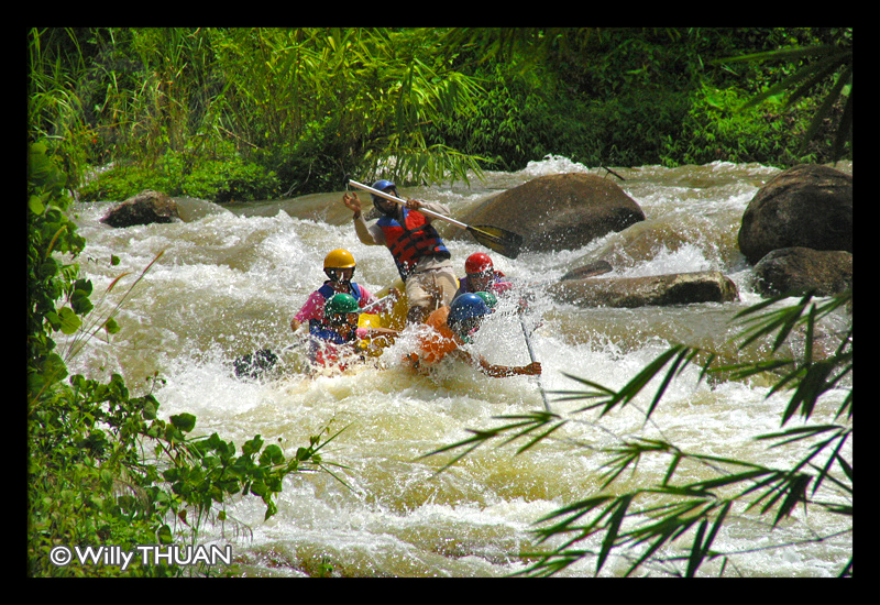 White Water Rafting in Phang Nga